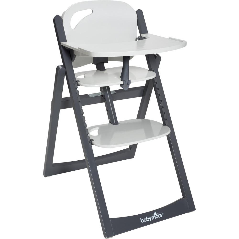 babymoov chaise haute volutive light wood zinc aluminium. Black Bedroom Furniture Sets. Home Design Ideas