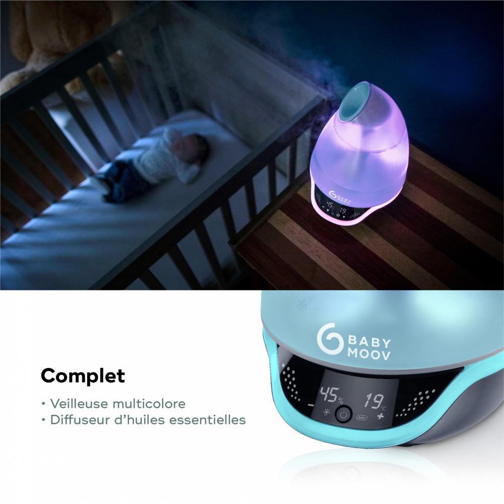 humidificateur d 39 air hygro de babymoov. Black Bedroom Furniture Sets. Home Design Ideas