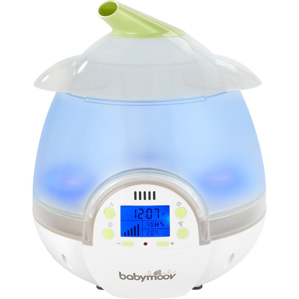 humidificateur b b digital de babymoov chez naturab b. Black Bedroom Furniture Sets. Home Design Ideas