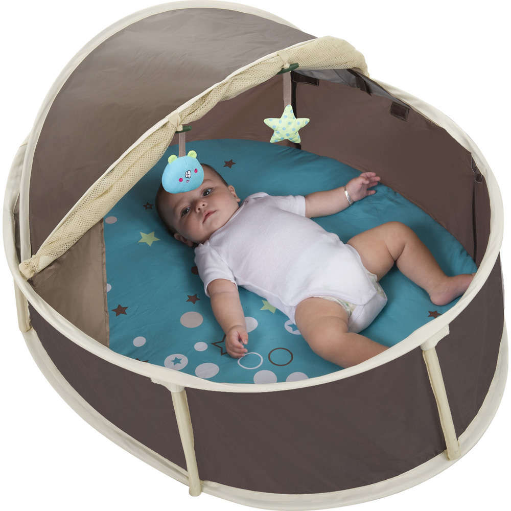 tente anti uv b b little babyni 2 en 1 30 sur allob b. Black Bedroom Furniture Sets. Home Design Ideas