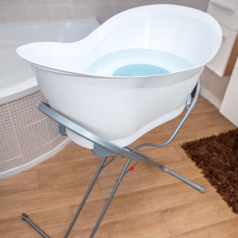 Pied de baignoire b b et tube de vidange pour aquanest de babymoov - Autour de bebe baignoire ...