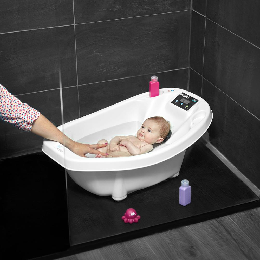 Baignoire b b aquascale de babymoov sur allob b - Autour de bebe baignoire ...