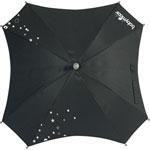 Ombrelle poussette square noir
