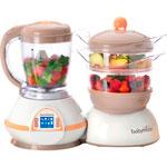 Robot de cuisine nutribaby taupe/abricot pas cher