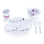 Coffret repas party lunch set girl pas cher