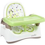 Rehausseur compact bébé taupe/vert amande pas cher