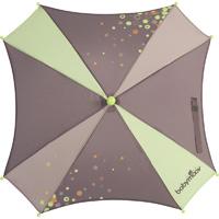 Ombrelle poussette fusain/vert amande