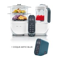 Robot de cuisine nutribaby+ loft white + coque artic blue