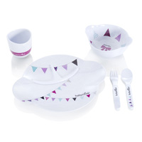 Coffret repas bébé party lunch set girl