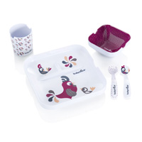 Coffret repas bébé lovely lunch set bird