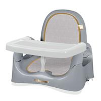 Rehausseur de table b b easy up white stars de babytolove for Adaptateur chaise pour bb