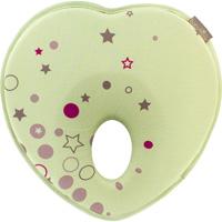 Cale tête bébé lovenest tissu respirant vert amande