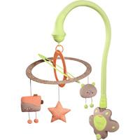 Mobile bébé scintille vert amande