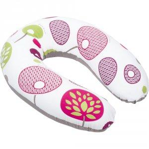 Coussin de maternité doomoo flower prune