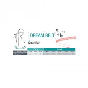 Babymoov Ceinture de sommeil ergonomique dream belt universelle smokey
