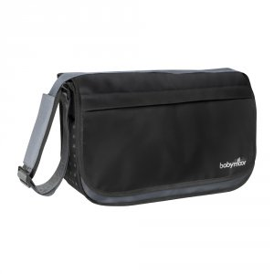 Sac à langer messenger black