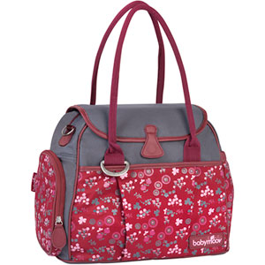 Sac à langer style bag cherry