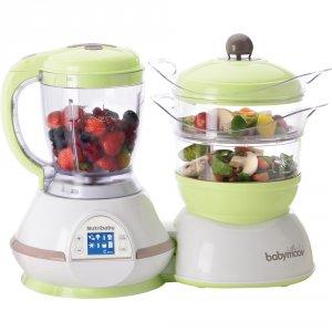 Robot de cuisine nutribaby amande/taupe