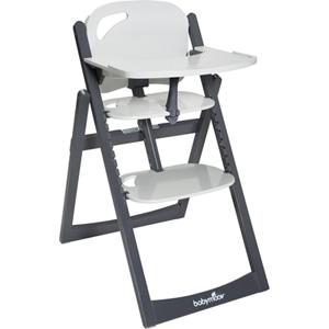 Chaise haute bébé light wood zinc/aluminium
