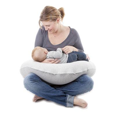 Coussin d'allaitement doomoo classic grey Babymoov