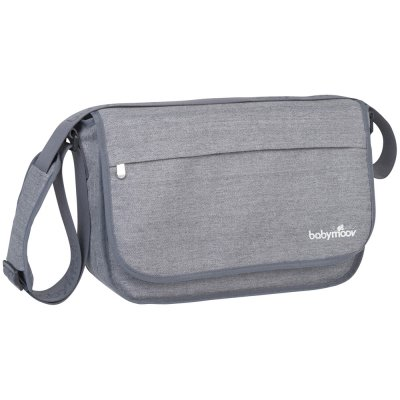 Sac à langer messenger bag smokey Babymoov