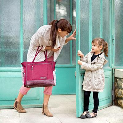 Sac à langer essential bag cherry Babymoov
