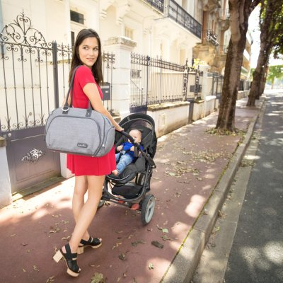 Sac à langer trendy bag smokey Babymoov