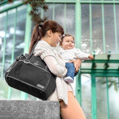 Sac à langer style bag dotwork Babymoov