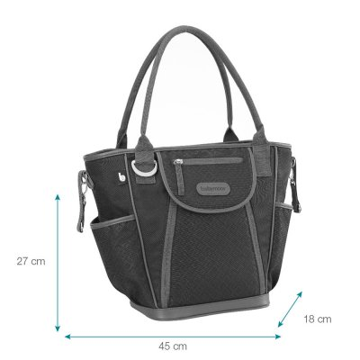 Sac à langer daily bag black Babymoov