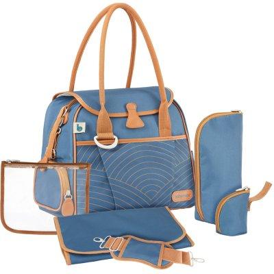 Sac à langer style bag blue navy Babymoov