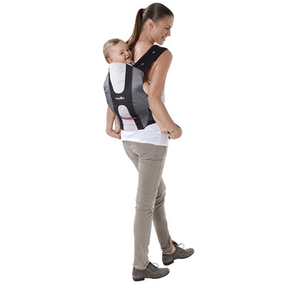 Porte bébé physiologique zinc hibiscus Babymoov
