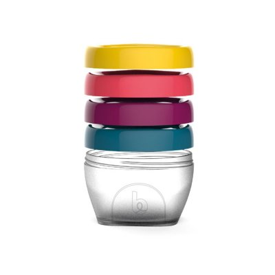 Lot de 4 pots de conservation babybols 120ml Babymoov