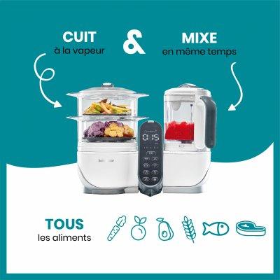 Robot de cuisine nutribaby+ loft white Babymoov