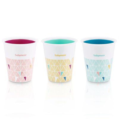 Lot de 3 gobelets multicolores Babymoov
