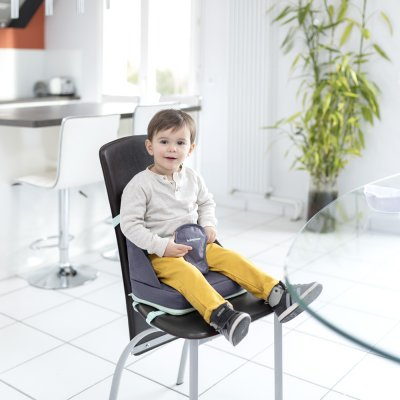 Réhausseur de chaise up and go grey Babymoov