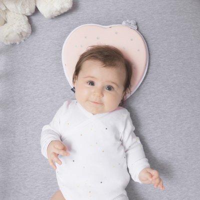 Cale tête bébé lovenest original pink Babymoov