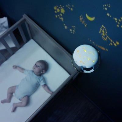 Veilleuse bébé projection avec réveil dreamy Babymoov