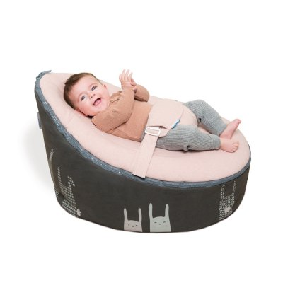 Transat bébé doomoo nid rabbit pink Babymoov