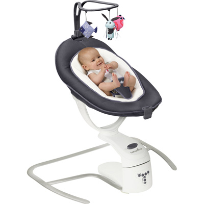 Balancelle bébé swoon motion zinc Babymoov