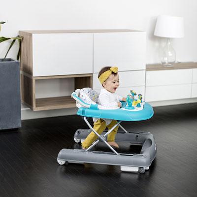 Trotteur bébé 2 en 1 pétrole Babymoov