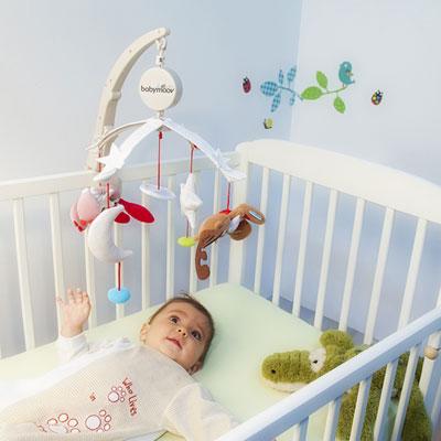 Mobile bébé musical de voyage Babymoov