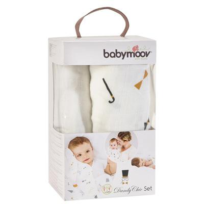Babymoov Lot de 3 langes bébé dandy 1