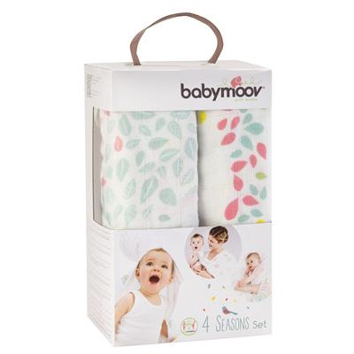 Lot de 3 langes bébé 4 seasons Babymoov