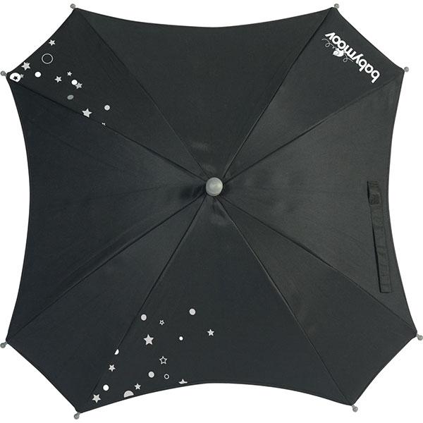 Ombrelle poussette square noir Babymoov