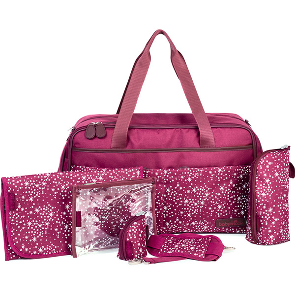 Sac à langer traveller bag cherry Babymoov
