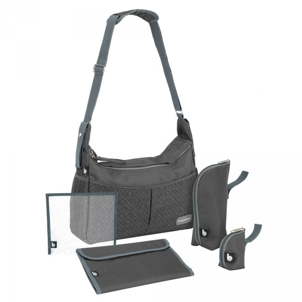 Sac à langer urban bag black