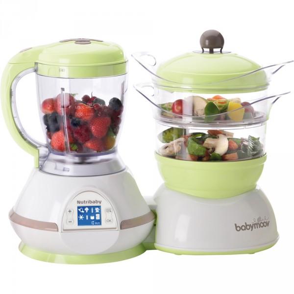 Robot de cuisine nutribaby amande/taupe Babymoov