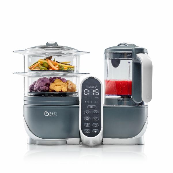 Robot de cuisine nutribaby+ industrial grey
