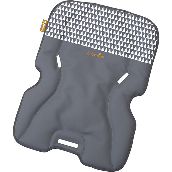 Coussin confort pour chaise haute light wood zinc Babymoov