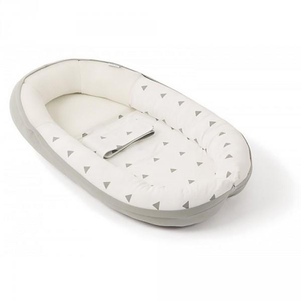 Réducteur de lit cocoon doomoo grey
